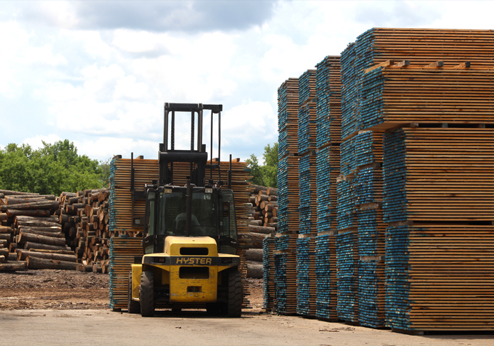 Is your company based in North America, and does your company manufacture, custom kiln dry, wholesale or distribute hardwood lumber, plywood, or related products?