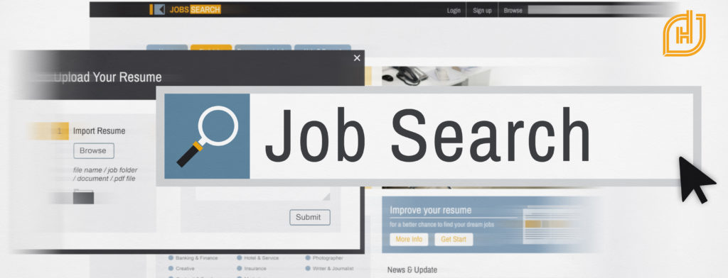 job search header